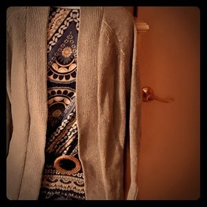 Ann Taylor loft.  Chenille sweater. Green. Xs